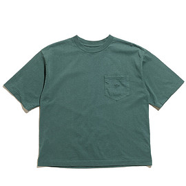 THE NORTH FACE PURPLE LABEL - 7oz H/S Pocket Tee-Green