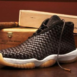 Nike - NIKE AIR JORDAN FUTURE PREMIUM DARK CHOCOLATE/SAIL-GUM YELLOW