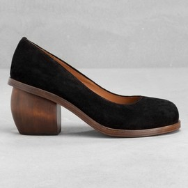 & Other Stories - & Other Stories | Sculpted suede pumps