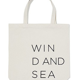 WIND AND SEA - TOTE BAG
