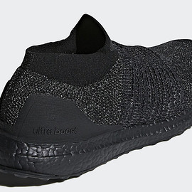 adidas - Ultra Boost Laceless - Triple Black