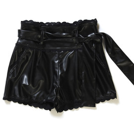 Katie - Fake Leather Culottes