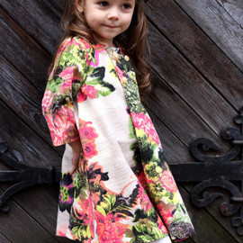 Girls flower dress