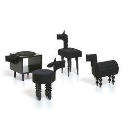 BIAUGUST - Black Animal Chairs