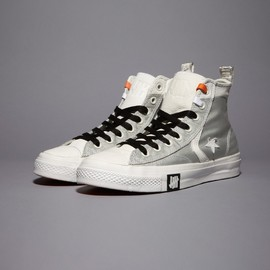CONVERSE × UNDEFEATED - Ballistic Star Player High White