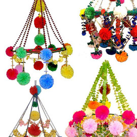 Polish Arts Centers - Paper Chandeliers