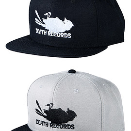 MEDICOM TOY - MLE Phantom of the Paradise シリーズ SNAP BACK CAP BLACK/GRAY×BLACK