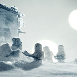 RECREATED USING LEGOS - SCENES FROM STAR WARS
