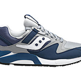 SAUCONY - GRID 9000 Navy and Gray