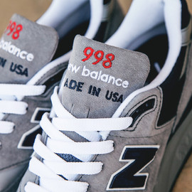 New Balance - 998GNR - Grey/Navy/Red?
