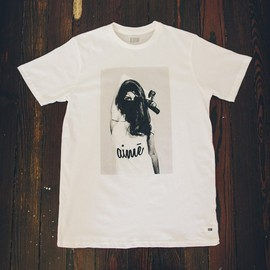 13th Witness, The Classified Portrait - The Classified Portrait Tee - Black/White