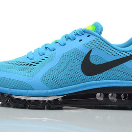 nike - Air MAX 2014 Men Sneakers peacockblue black Nike Shoes