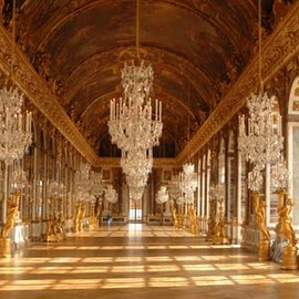Jules Hardouin-Mansart (Architecte) and Charles Le Brun (painter) - Galerie des Glaces, Versailles, France