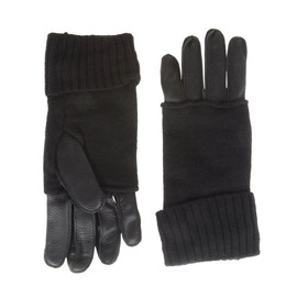 Neil Barrett - Wool Leather Gloves