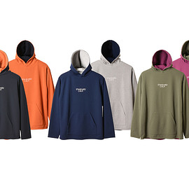 STANDARD CALIFORNIA - SD Dry Waffle Thermal Reversible Pullover Hood