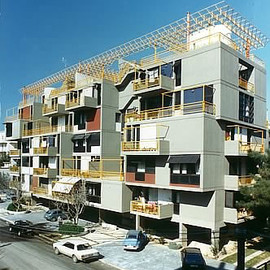 Athens, Greece - apartment building in Chalandri
