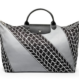 LONGCHAMP - Le Pliage® TIRE PRINT designed by Jeremy Scott