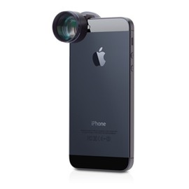 olloclip - 望遠レンズ + 円偏光フィルター for iPhone & iPod touch
