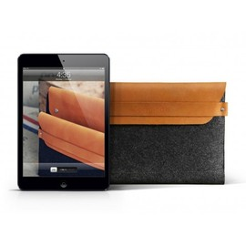 Mujjo - iPad Mini Sleeve: Brown