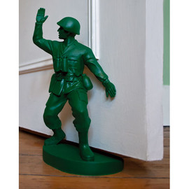 soldier bookend by Homeless and Jon Piper