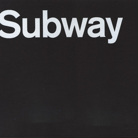 "Paul Shaw - ""Helvetica and The New York City Subway System"" Edition 400 copies, 2009"