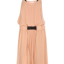SEE BY CHLOE - chiffon jersey dress