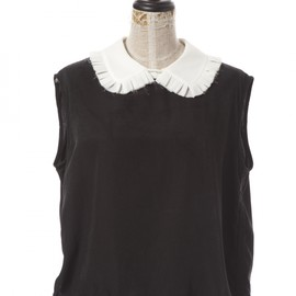 Honey mi Honey - No sleeve collar tunic