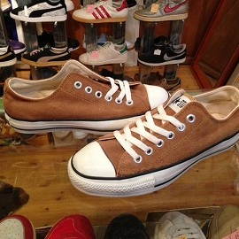 "converse - 「<deadstock>90's converse ALLSTAR SUEDE OX brown""made in USA"" size:US5(24cm) 8800yen」完売"