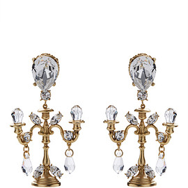DOLCE&GABBANA - FW2016 Chandelier Earrings
