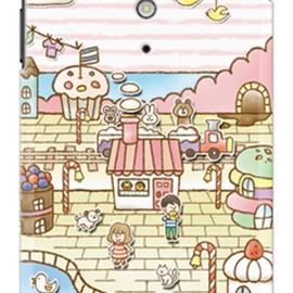 SECOND SKIN - uistore「Sweets Shop」 / for  Xperia GX SO-04D/docomo