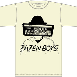 ZAZEN BOYS - NEW DELAY MAN T-シャツ