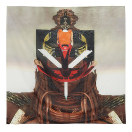 GIVENCHY - Square scarf 120cm x 120cm Tribal Robot II