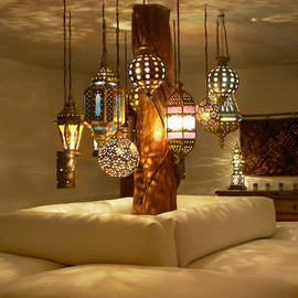 via warm deco bed room