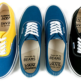 VANS×BEAMS - Authentic 「VAN DOREN」