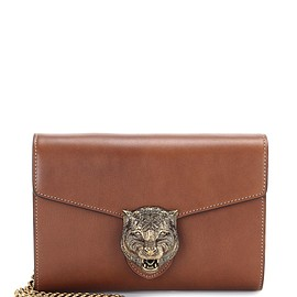 GUCCI - Resort 2016 Animalier leather shoulder bag