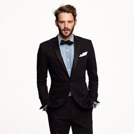 J.CREW - LUDLOW TUXEDO JACKET WITH DOUBLE VENT IN ITALIAN CHINO