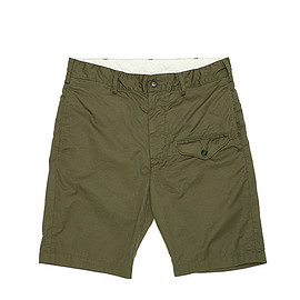 ENGINEERED GARMENTS - Ghurka Short-Lt.Weight High Count Twill-Olive