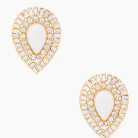 kate spade NEW YORK - capri garden statement studs