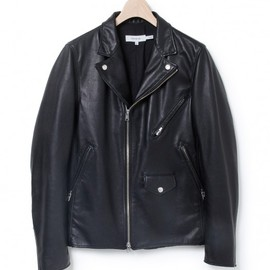 nonnative - RIDER SHORT JACKET - LIGHT WEIGHT COW LEATHER