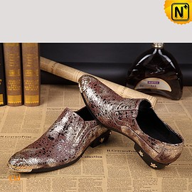 CWMALLS - CWMALLS® Mens Glitter Slip-on Dress Shoes CW751548