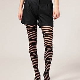 Image 1 of ASOS Strap Around Tights