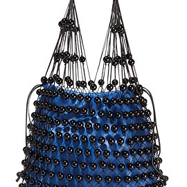 Mulberry - Beaded leather shoulder bag
