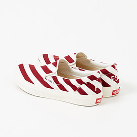 FREEMANS SPORTING CLUB, VANS - FSC×VANS STRIPE SLIP ON