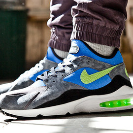 Nike × size? - Air Max 93 Flash Lime/Game Royal
