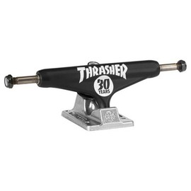 INDEPENDENT - Thrasher (Matt Black/Silver)