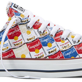 CONVERSE - Converse Is Now Wrapping Its Sneakers In Andy Warhol's Art