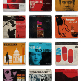 Ty Mattson - Homeland Vintage Jazz Record Covers