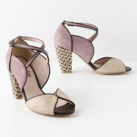Anthropologie - Mixed Media Heels