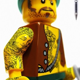 Bad Ass LEGO Tattoos