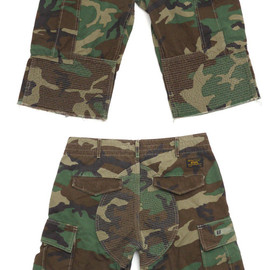 WTAPS - JUNGLE.CHOPPEDSHORTS.COTTON.RIPSTOP.(ミリタリーショーツ)WOODLAND249-000437-049-【新品】【smtb-TD】【yokohama】